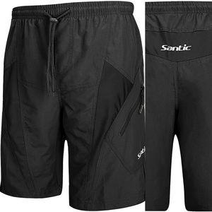 Santic Mountain Bike Shorts Loose-Fit Padded XL